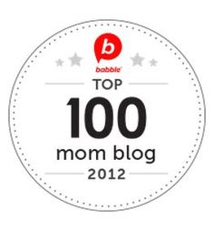 Babble Top Mom Blog 2012