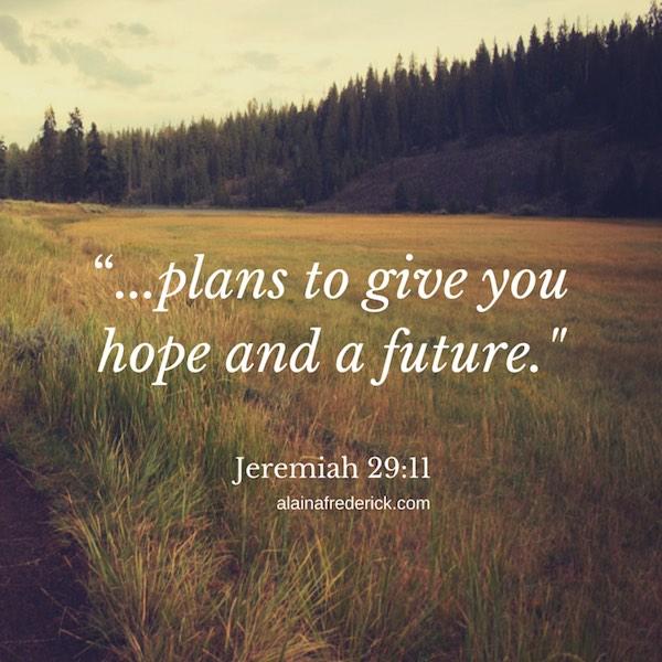 Jeremiah 29:11 Bible Verse Image