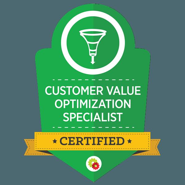 Customer Value Optimization Specialist Certified